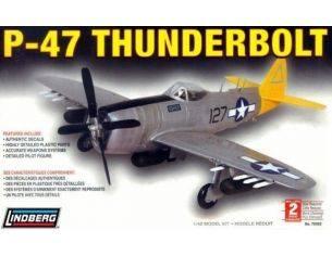 Lindberg 70502 P-47 THUNDERBOLT 1/48 KIT DI MONTAGGIO Modellino