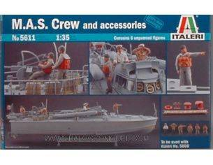 Italeri IT5611 EQUIPAGGIO M.A.S. KIT 1:35 Modellino