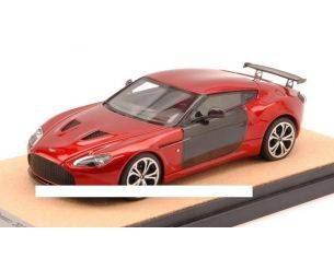 Tecnomodel TMDMI52AS ASTON MARTIN V12 ZAGATO 2012 METALLIC RED W/CARBON ED.LIM.PCS 10 1:43 Modellino