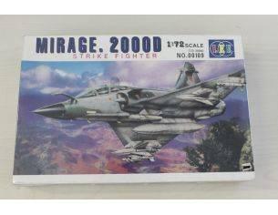 LEE 00109 Mirage. 2000D Strike fighter 1:72 kit militiari Modellino