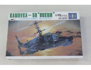 LEE 00107 Kamovka - 50 Hokum Russian Combat Helipcter 1:72 kit militiari Modellino