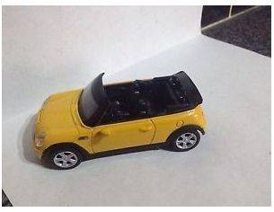 New Ray NY19113 Mini Cooper S Convertible Yellow 1/43 auto Modellino