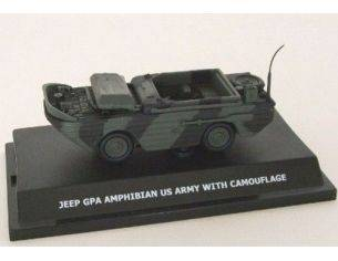 Wemi 20492 JEEP GPA AMPHIBIAN US ARMY WITH CAMOUFLAGE 1/43 Modellino