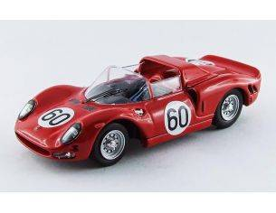 Best Model BT9534 FERRARI 330 P2 N.60 2nd MONZA 1965 SURTEES-SCARFIOTTI 1:43 Modellino
