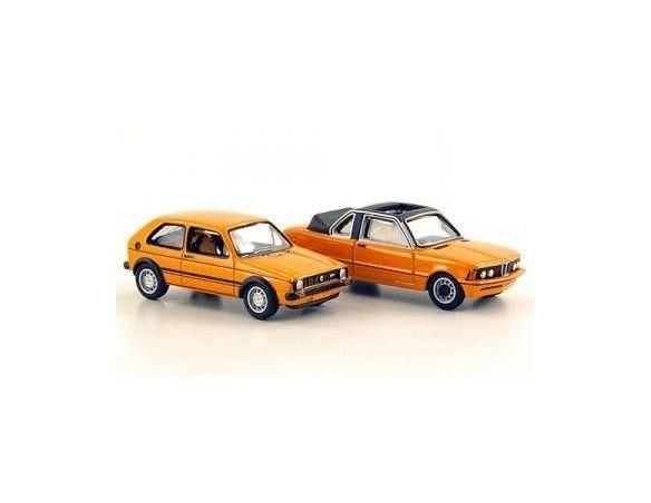 Bub 06932 SET CREME 21 2011:BMW 320 BAUR+VW Modellino