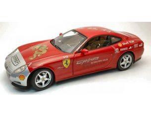 Hot Wheels L7127 FERRARI 612 TOUR CHINA 2005 RED 1:18 Modellino