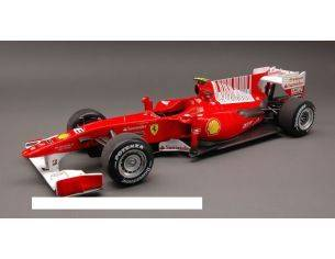 Hot Wheels HWT6257 FERRARI F.ALONSO 2010 N.8 WINNER BAHRAIN GP 1:18 Modellino