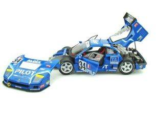Hot Wheels HWN2071 FERRARI F 40 N.34 12th LE MANS 1995 FERTE'-THEVENIN-PALAU 1:18 Modellino