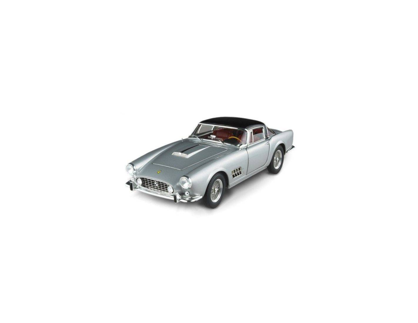 Hot Wheels HWN2048 FERRARI 410 SUPERAMERICA 1956 SILVER 1:18 Modellino