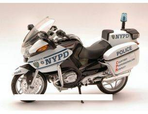 New Ray NY44073 BMW R1200RT NYPD POLICE 1:12 Modellino