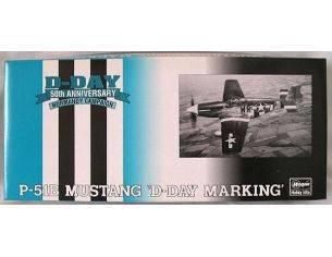 Hasegawa 51628SP128 P-51B MUSTANG D-DAY MARKING 1:72 KIT Modellino