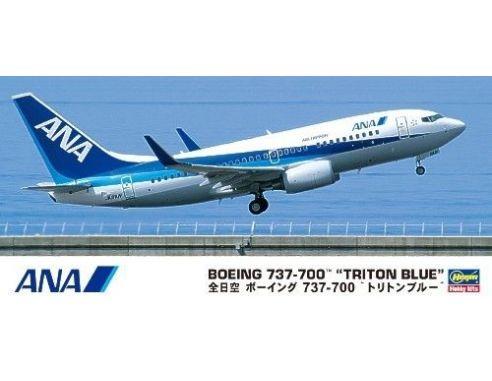 Hasegawa 10669 BOEING 737-700 TRITON BLUE KIT Aerei 1:200 Modellino