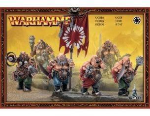 Games Workshop Warhammer 95-06 OGRI Games Workshop Personaggi Modellino