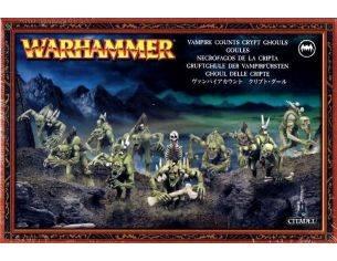 Games Workshop Warhammer 91-12 GHOUL DELLE CRIPTE Personaggi