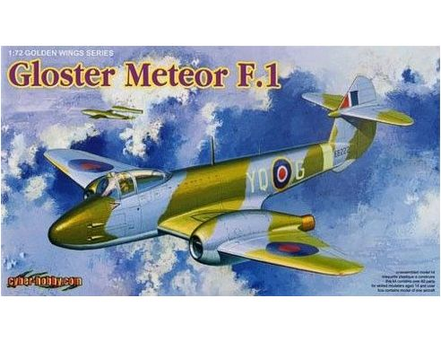 Dragon 5084 GLOSTER METEOR GOLDEN WINGS SERIES F.1 1:72 KIT Modellino
