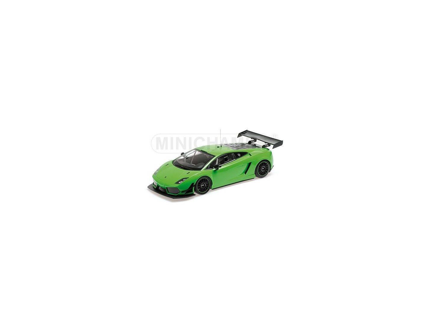 auto 1 18 minichamps 151111101 lamborghini gallardo lp600 gt3 2011 street green modellino. Black Bedroom Furniture Sets. Home Design Ideas