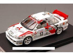 Hpi Racing HPI8550 MITSUB.LANCER EVO III N.12 3rd T.DE CORSE 1995 AGHINI-FARNOCCHIA 1:43 Modellino