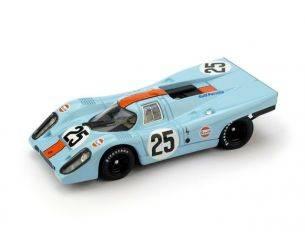 Brumm BM0556 PORSCHE 917K GULF N.25 1000 Km SPA 1970 RODRIGUEZ-KINNUNEN 1:43 Modellino