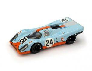 Brumm BM0555 PORSCHE 917K GULF N.24 WINNER 1000 Km SPA 1970 SIFFERT-REDMAN 1:43 Modellino