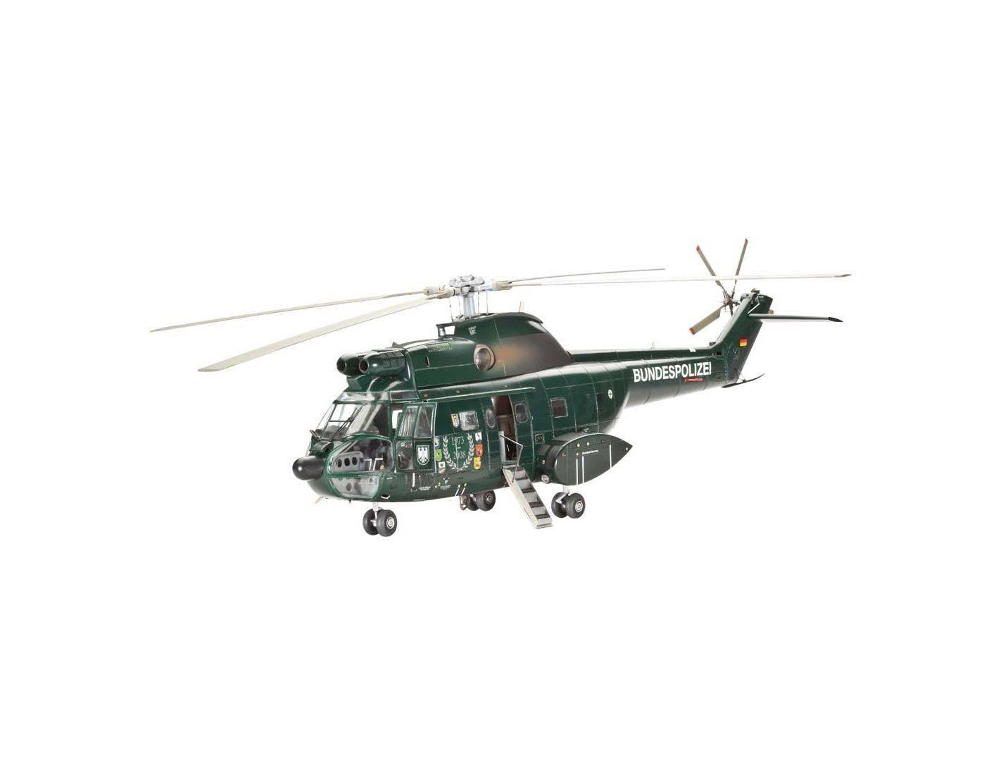 Elicottero 1 32 : Revell rv elicottero sa puma bgs kit modellino