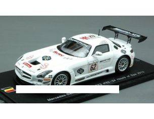 Spark Model SB048 MERCEDES SLS AMG GT3 N.62 31th SPA 2013 WEBB-WENDLINGER-BRUNDLE 1:43 Modellino