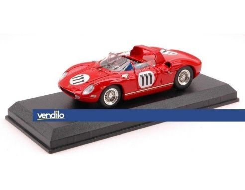 Art Model AM0214 FERRARI 250 P N.111 ACCIDENT NURBURGRING 1963 SCARFIOTTI-PARKES 1:43 Modellino