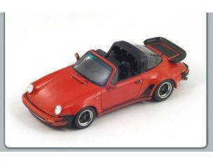 Spark Model S3497 PORSCHE 911 TURBO 3.3 TARGA 1989 RED 1:43 Modellino