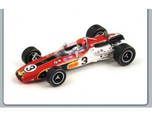 Spark Model S43IN68 EAGLE MK4 N.3 WINNER INDY 500 1968 BOBBY UNSER 1:43 Modellino