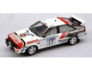 Trofeu TF1615 AUDI QUATTRO N.17 10th RAC 1982 M.WILSON-GREASLEY  1:43 Modellino