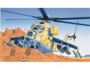 Italeri IT0014 MIL 24 HIND D/E KIT 1:72 Modellino