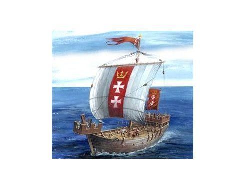 Zvezda Z9018 MEDIEVAL SHIP HANSA COG KIT 1:72 Modellino