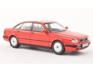 Neo Scale Models NEO43352 AUDI 80 (B4) 1992 RED 1:43 Modellino