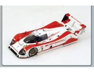 Spark Model S2364 TOYOTA TS 010 N.7 18th LM 1992 LEES-BRABHAM-KATAYAMA 1:43 Modellino