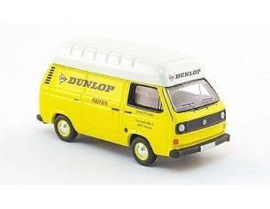 Bub 09201 VW T3 BOX VAN DUNLOP YELLOW 1/87 Modellino