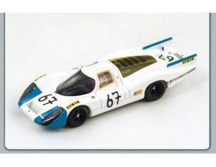 Spark Model S3499 PORSCHE 907 N.67 37th LM 1968 BUCHET-LINGE 1:43 Modellino