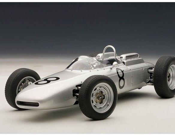 Auto Art / Gateway AA86272 PORSCHE 804 F1 J.BONNIER 1962 N.8 NURBURGRING GP 1:18 Modellino