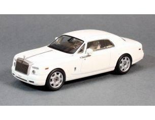 Kyosho KY5531EW ROLLS ROYCE PHANTOM COUPE' 2013 WHITE 1:43 Modellino