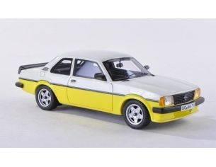 Neo Scale Models NEO43710 OPEL ASCONA B i2000 1980 YELLOW/WHITE 1:43 Modellino