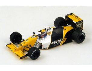 Spark Model S4110 MINARDI M189 PIERLUIGI MARTINI 1989 N.23 5th BRITISH GP 1:43 Modellino