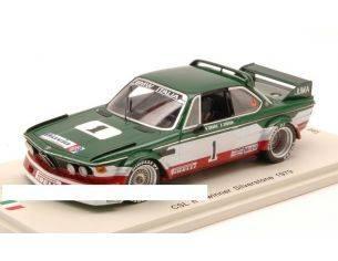 Spark Model SI001 BMW CSL N.1 WINNER SILVERSTONE 1979 U.GRANO-E.JOOSEN (SPARK ITALIA) 1:43 Modellino
