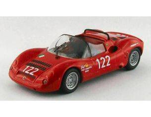 Best Model BT9532 ABARTH SP 1000 N.122 WINNER TARGA FLORIO 1969 CALASCIBETTA-FERLITO 1:43 Modellino