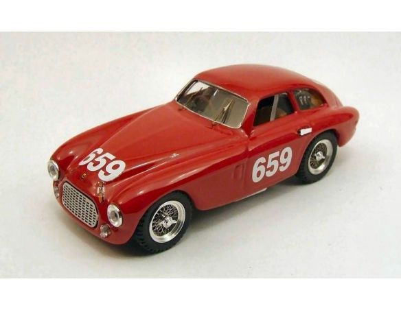 Art Model AM0219 FERRARI 166 MM N.659 DNF MM 1950 CORNACCHIA-MARIANI 1:43 Modellino