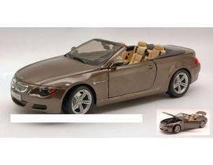 Maisto MI31145 BMW M 6 CABRIO 2007 MET.BRONZE 1:18 Modellino