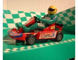 Bum Slot Cars BS-102 GO-KART SUPER GO-KART RED 1/32 Modellino