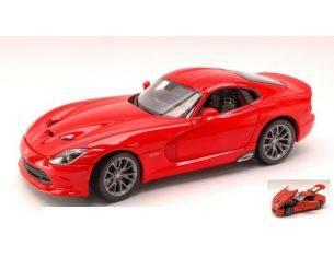Maisto MI31128 DODGE VIPER SRT GTS 2013 RED 1:18 Modellino