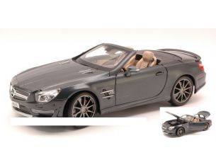 Maisto MI36198 MERCEDES SL 65 AMG 45th ANNIVERSARY 2013 CARBON COLOUR 1:18 Modellino