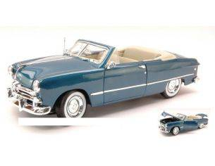 Maisto MI31682 FORD CONVERTIBLE TOP DOWN 1949 METALLIC BLUE 1:18 Modellino