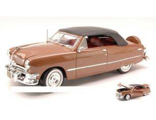 Maisto MI31681 FORD CONVERTIBLE SOFT TOP 1950 METALLIC BRONZE 1:18 Modellino