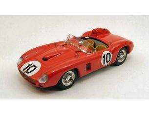 Art Model AM0220 FERRARI 290 MM N.10 4th VIRGINIA INTERNAT.RACEWAY 1957 J.KILBORN 1:43 Modellino