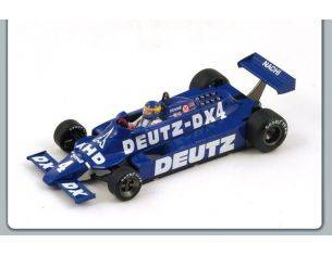 Spark Model S1886 TYRRELL 010 D.WILSON 1981 N.4 RETIRED (ACCIDENT) S.AFRICAN GP 1981 1:43 Modellino